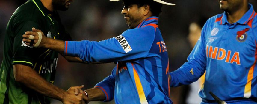 India Beats Pakistan in Cricket World Cup Semifinals