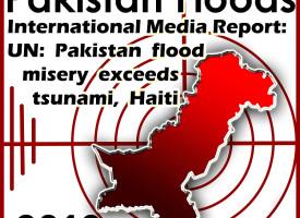 Pakistan's Worst Disaster: Summer 2010 Floods
