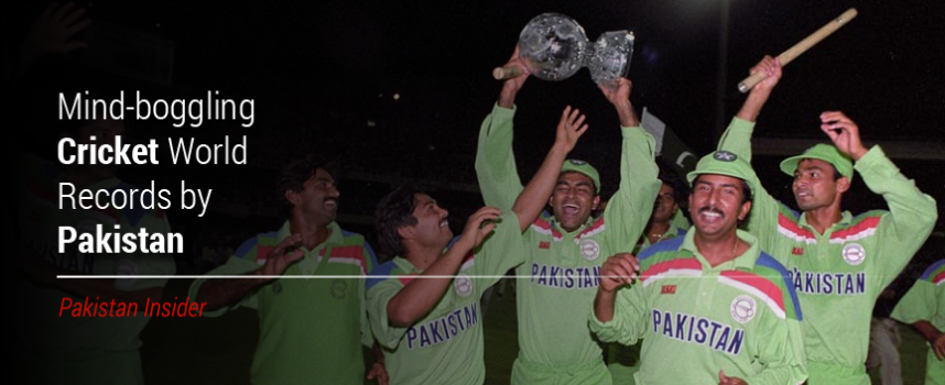 """Mind-boggling """"Cricket World Records"""" by Pakistan"""