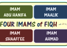 The Four Great Imams of Islamic Jurisprudence (Fiqh)