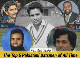 The Top 5 Pakistani Batsmen of All Time