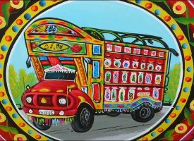 Pakistani Truck Art: Truly an Art Form