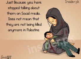 Illustration: Don't Forget Palestine