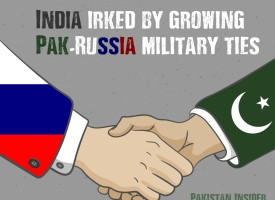 India irked by growing Pak-Russia military ties