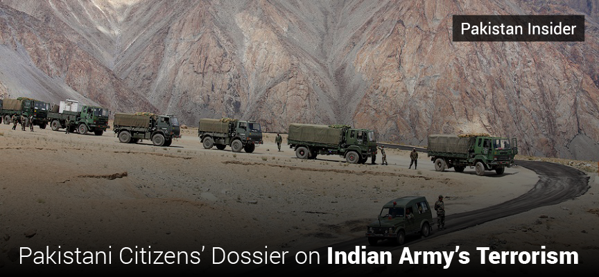 Pakistani Citizens' Dossier on Indian Army's Terrorism