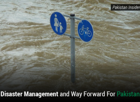 Disaster Management and Way Forward For Pakistan