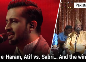 Tajdar-e-Haram, Atif vs. Sabri… And the winner is…