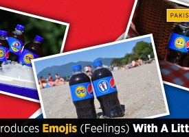 Pepsi introduces Emojis (feelings) with a little soda
