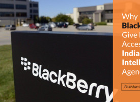Why Did BlackBerry Give Full Access To Indian Intelligence Agencies?