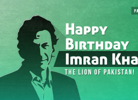 Happy Birthday Imran Khan. The Lion of Pakistan!