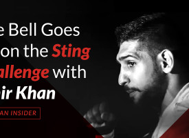 The Bell Goes off on the Sting Challenge with Amir Khan