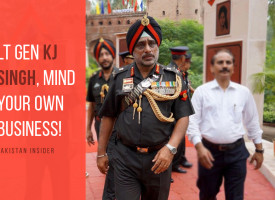 Lt Gen KJ Singh, Mind Your Own Business!