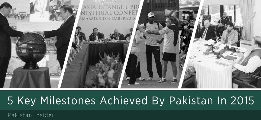 5 Key Milestones Achieved By Pakistan In 2015