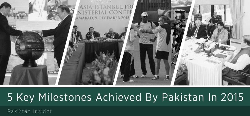 5 Key Milestones Achieved By Pakistan In 2015