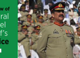 A Review of General Raheel Sharif's Service