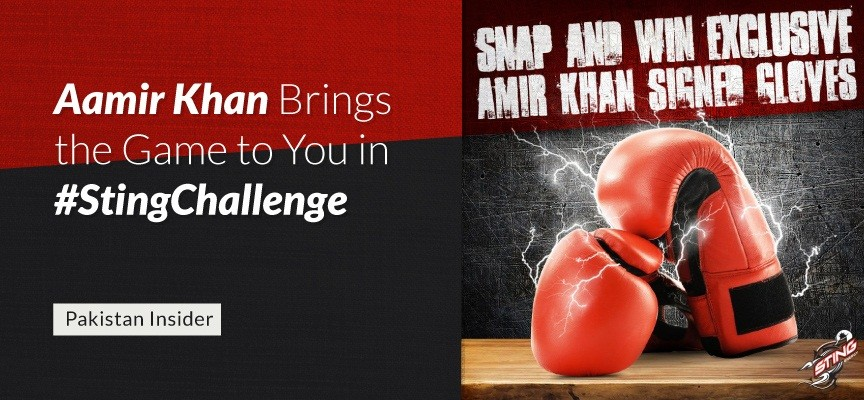 Aamir Khan Brings the Game to You in #StingChallenge
