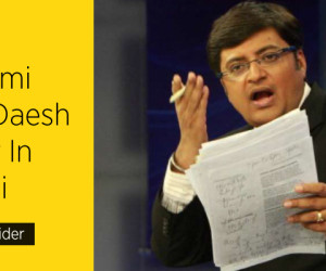 Arnab Goswami Finds Daesh Leader In Karachi