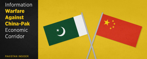 Information Warfare against China-Pak Economic Corridor