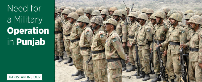 Need for a Military Operation in Punjab