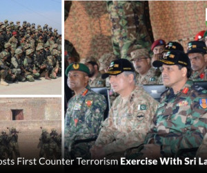 Pakistan Army Hosts First Counter Terrorism Exercise With Sri Lanka and Maldives
