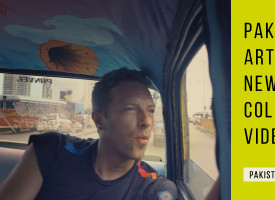 Pakistani Art Adorns New Coldplay Video!