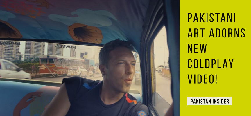 Pakistani Art Adorns New Coldplay Video!