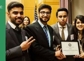 Honoring FATE – LUMS Honors winners of the US State Department Competition