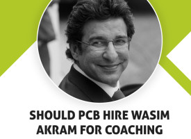 Question: Should PCB hire Wasim Akram for coaching Pakistan Team?