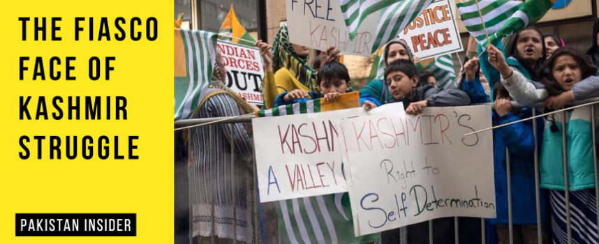 The fiasco face of Kashmir Struggle
