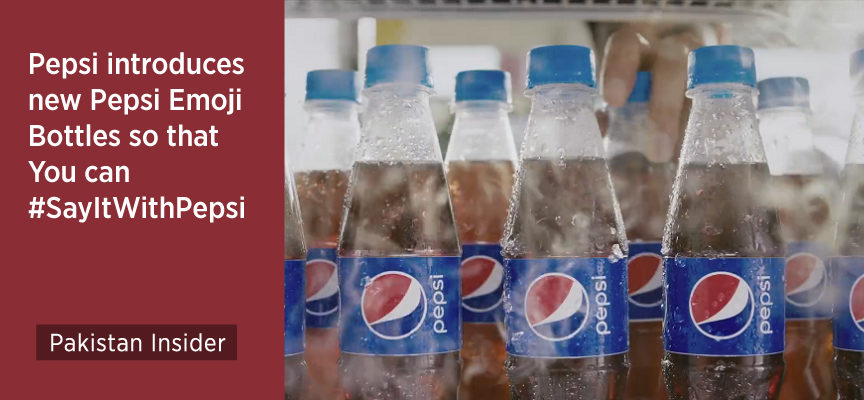 Pepsi introduces new Pepsi Emoji Bottles so that you can #SayItWithPepsi
