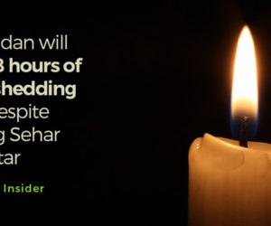 Ramadan will have 8 hours of Loadshedding with respite during Sehar and Iftar