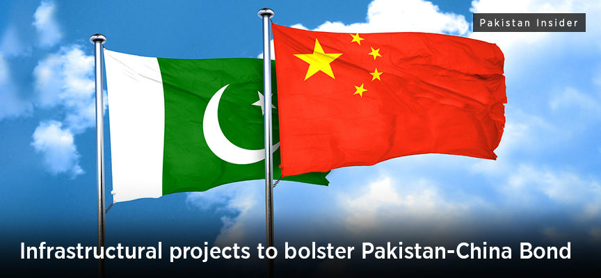 Infrastructural projects to bolster Pakistan-China Bond