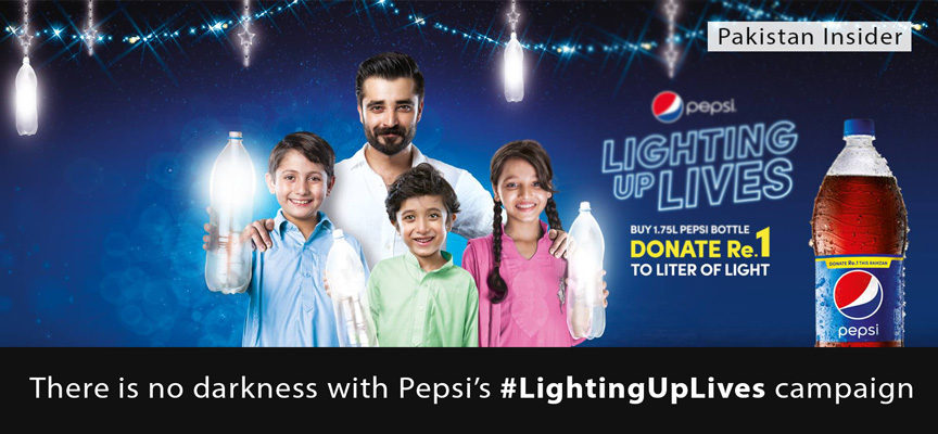 There is no darkness with Pepsi's #LightingUpLives campaign