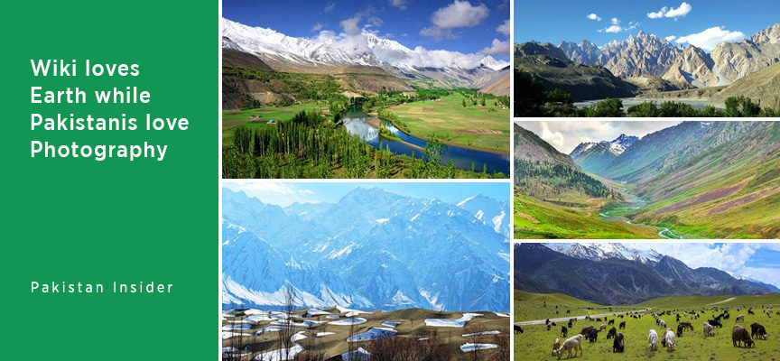 Wiki loves Earth while Pakistanis love Photography