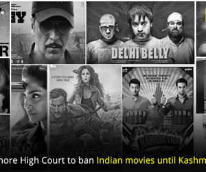 Petition filed in Lahore High Court to ban Indian movies until Kashmir issue is resolved