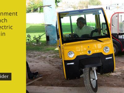 KPK government set to launch solar and electric rickshaws in Peshawar