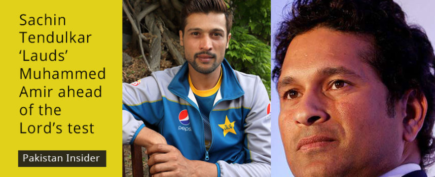 Sachin Tendulkar 'Lauds' Muhammed Amir ahead of the Lord's test