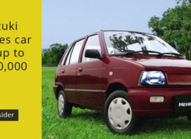 Pak Suzuki increases car prices up to PKR 100,000