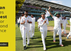 Pakistan becomes No. 1 test team for the second time since 1988