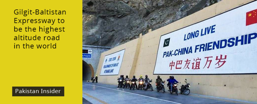 Gilgit-Baltistan Expressway to be the highest altitude road in the world