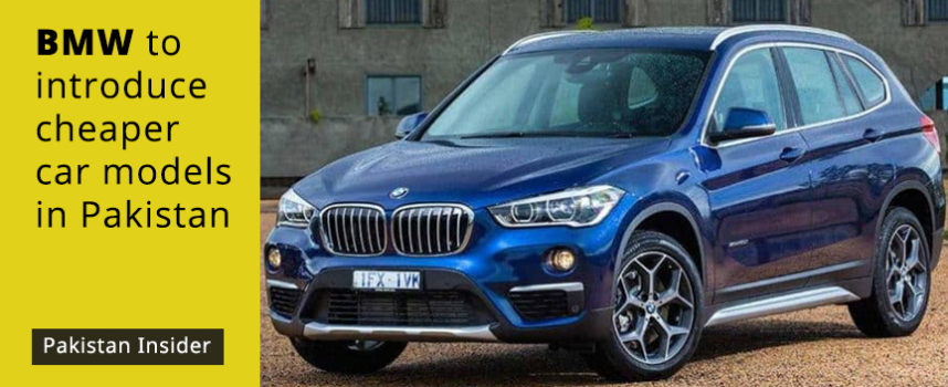 BMW to introduce cheaper car models in Pakistan