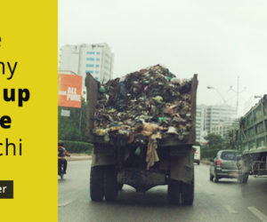 Chinese Company to pick up garbage in Karachi