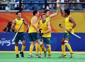 Australia the Victors at the 2011 Sultan Azlan Shah Cup Final