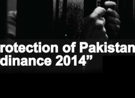 Provisions of the Protection of Pakistan Bill 2014