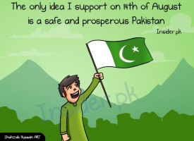 Illustration: We Want a Prosperous Pakistan