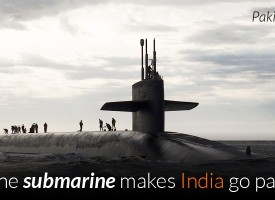 Just one submarine makes India go paranoid