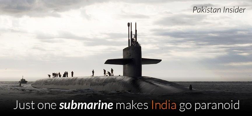 Just one submarine makes India go paranoid