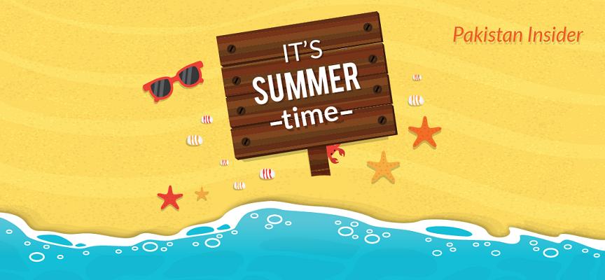 It is definitely summer time!