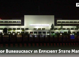 The Role of Bureaucracy in Efficient State Management