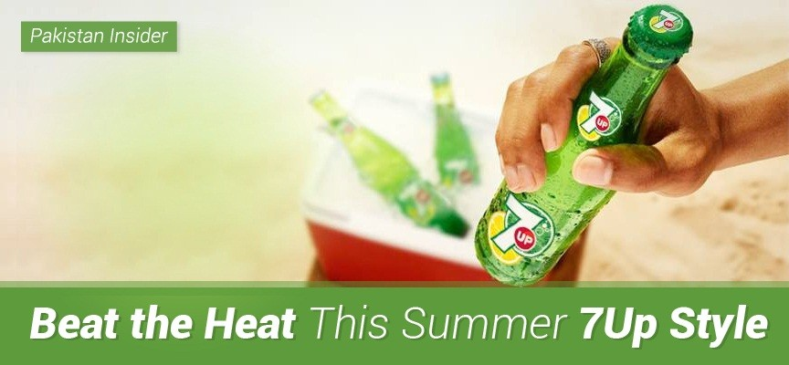 Beat the Heat This Summer 7Up Style